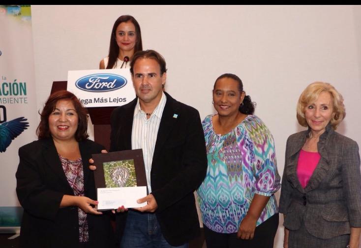 """Reef Check República Dominicana gana premio Internacional """"Donativos para la Conservación y el Medio Ambiente de Ford Motor Company"""""""